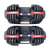 Adjustable Dumbbell 2.5 to 24 Kg - Pair