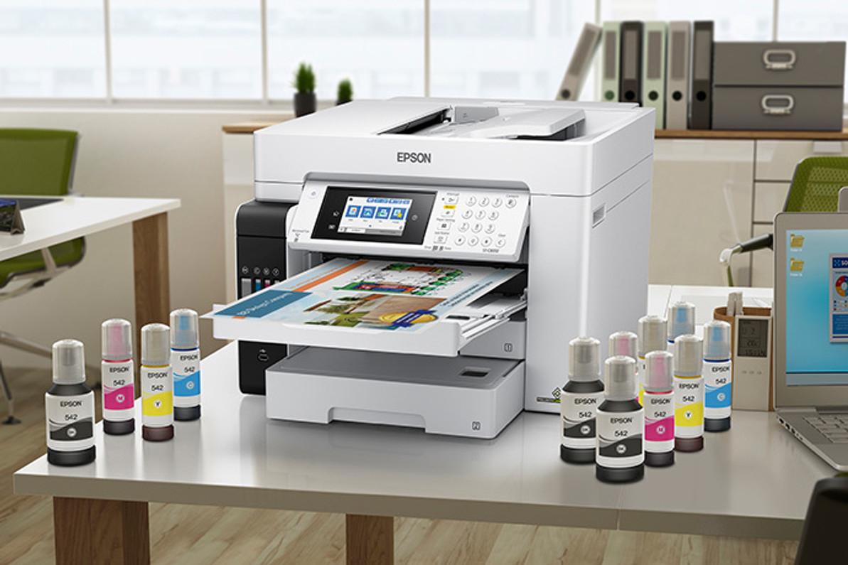 NEW PRODUCT!! Epson WorkForce ST-C8000 Color MFP Supertank Printer