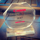 Aresco Wins Canon Premier Partner Award for 2017