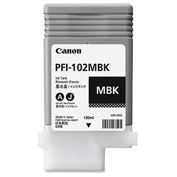 Canon PFI 102MBK - Matte Black Ink Tank 130ml (CIPFI102MBK)
