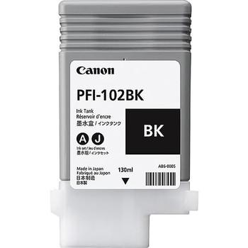 Canon PFI 102BK - Black Ink Tank 130ml (CIPFI102BK)