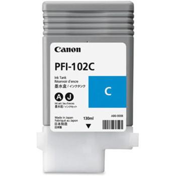 Canon PFI 102C - Cyan Ink Tank 130ml (CIPFI102C)