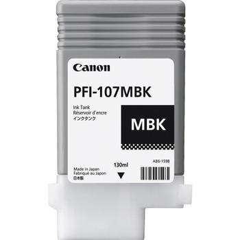 Canon PFI 107MBK - Matte Black Ink Tank 130ml (CIPFI107MBK)