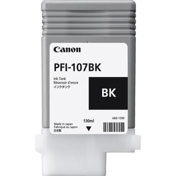 Canon PFI 107BK - Black Ink Tank 130ml (CIPFI107BK)