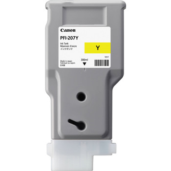 Canon PFI 207Y - Yellow Ink Tank 300ml (CIPFI207Y)