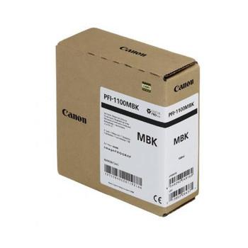 Canon PFI 1100MBK - Matte Black Pigment Ink Tank 160ml (CIPFI1100MBK)