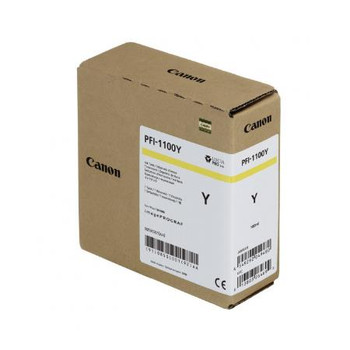 Canon PFI 1100Y - Yellow Pigment Ink Tank 160ml