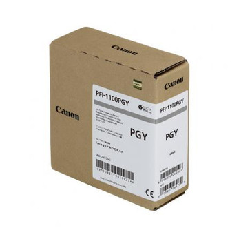 Canon PFI 1100PGY - Photo Gray Pigment Ink Tank 160ml (CIPFI1100PGY)