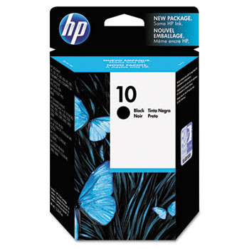HP 10 Black Ink Cartridge 69ml (HEWC4844A)