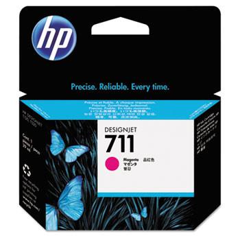 HP 711 Magenta Ink Cartridge 29ml