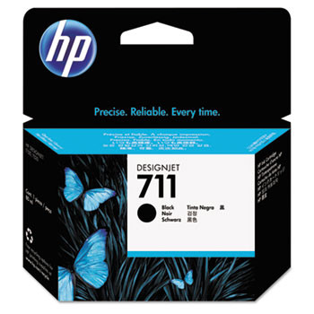 HP 711 Black Ink Cartridge 80ml (HEWCZ133A)