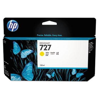 HP 727 Yellow Ink Cartridge 130ml