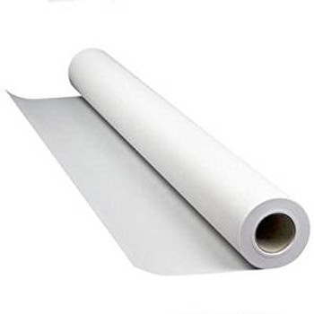 752 - 42x75' 38lb Coated Paper Roll w/ Perm Adh (Matte)