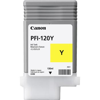 Canon PFI 120Y - Yellow Pigment Ink Tank 130ml