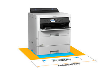 WorkForce Pro WF-C529R Workgroup Color Printer (24 ppm)