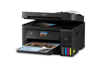 WorkForce ST-4000 Color MFP Supertank Printer open lid