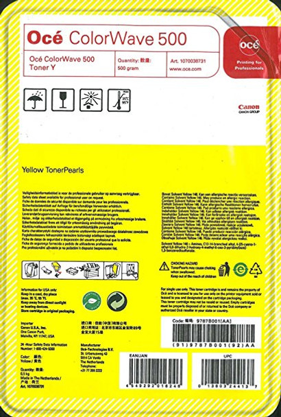 Oce Canon Colorwave 500 Yellow