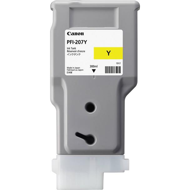Canon PFI 207Y - Yellow Ink Tank 300ml (CIPFI207Y)