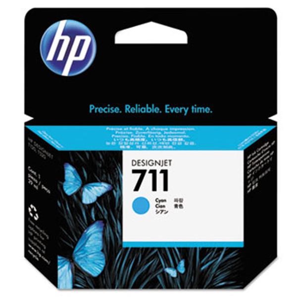 HP 711 Cyan Ink Cartridge 29ml (HEWCZ130A)