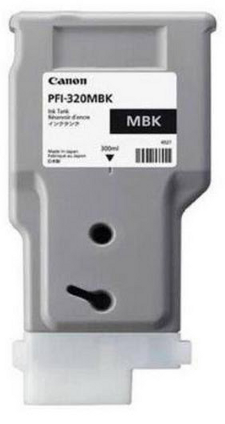 Canon PFI 320MBK - Matte Black Pigment Ink Tank 300ml (CIPFI320MBK