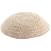 Tan Knitted Kippah