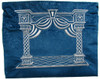 Dark Blue Vilna Gate Tallit Bag
