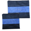 Blue Suede Tallit Bag