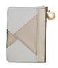 Gold Geometric Zip-Case Tehillim