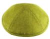 Chartreuse Linen Kippah