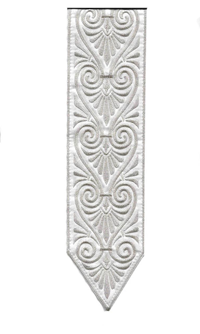 Silver Swirl Pattern Atara