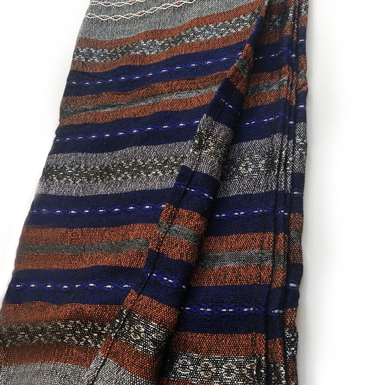 Gabrieli Premium - Gray with Blue & Orange