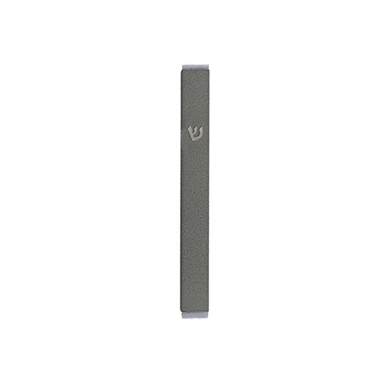 Olive Gray Stainless Steel Mezuzah
