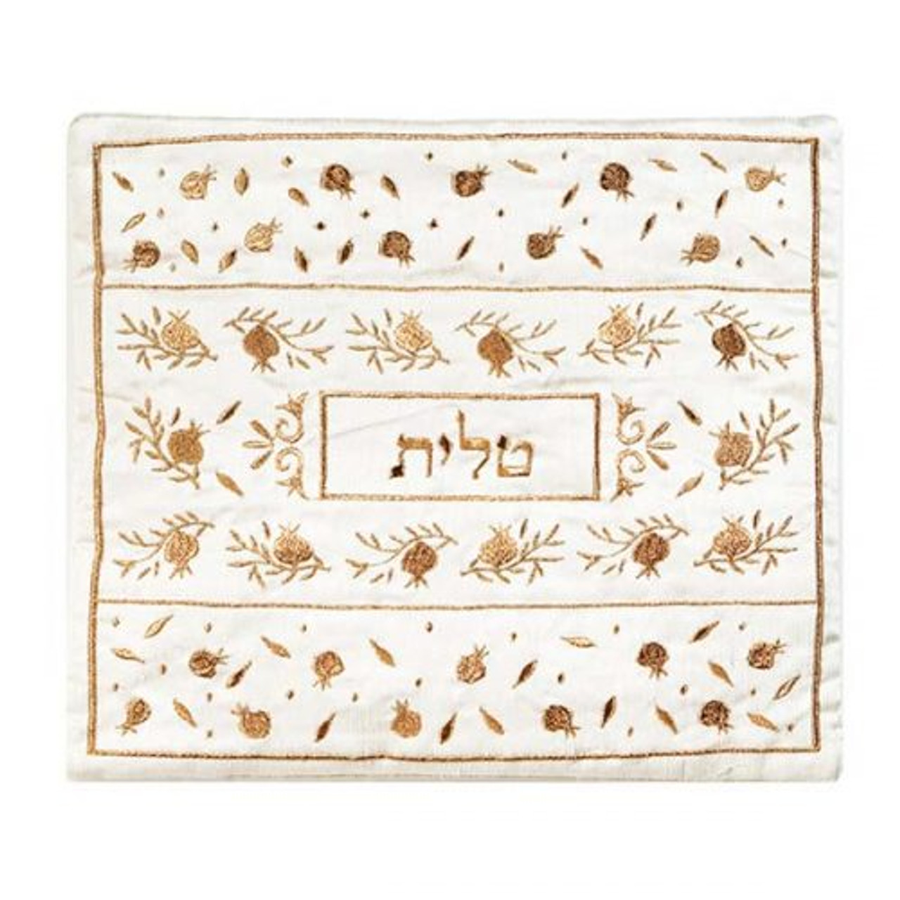 Gold Pomegranate Tallit Bag
