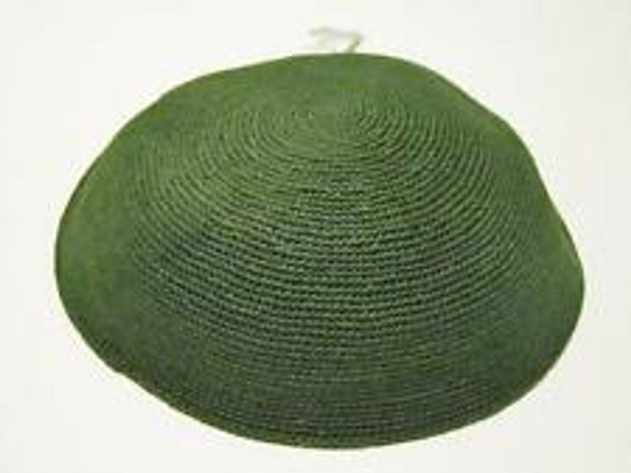 Green DMC Knitted Kippah