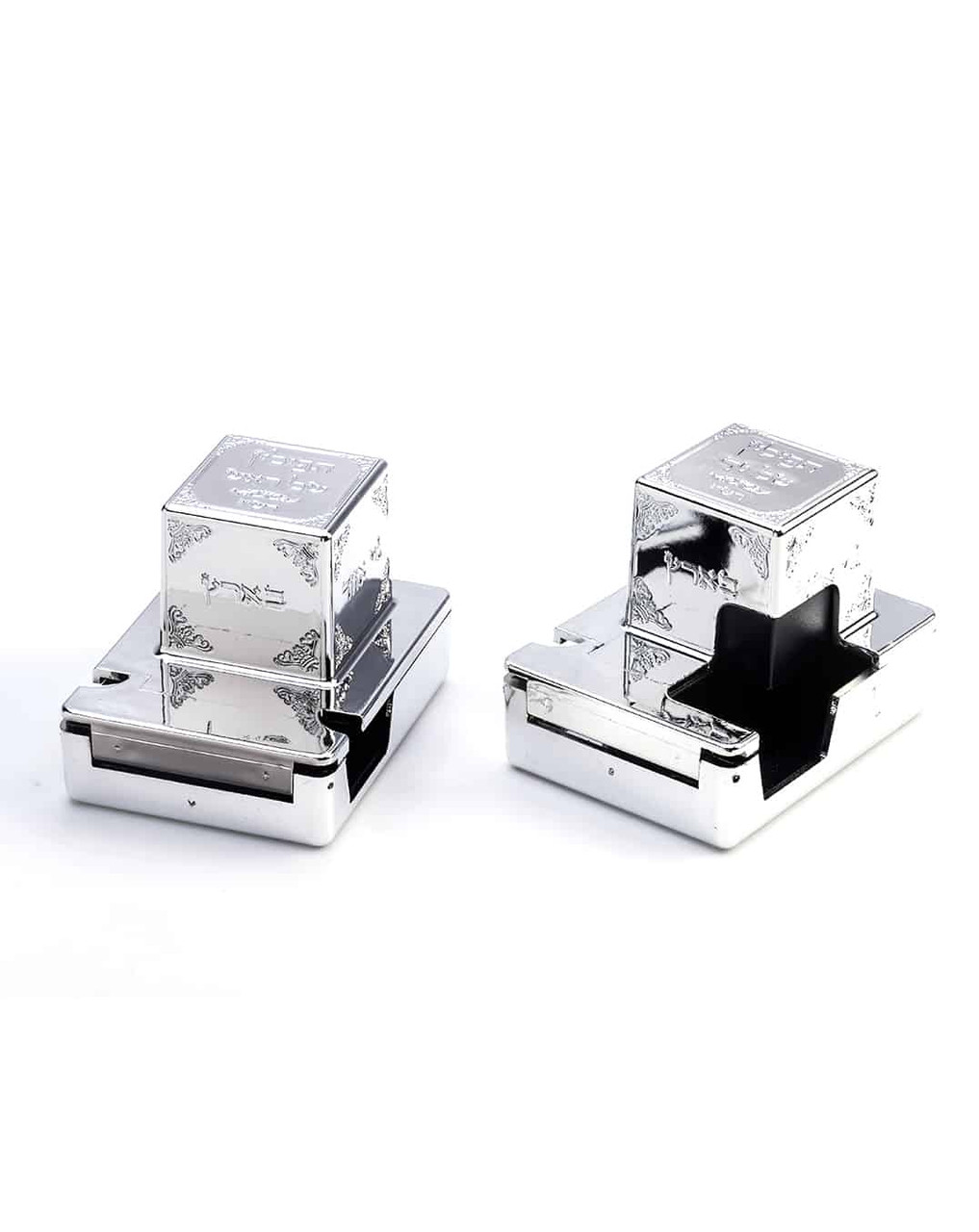 Silver Tefillin Covers