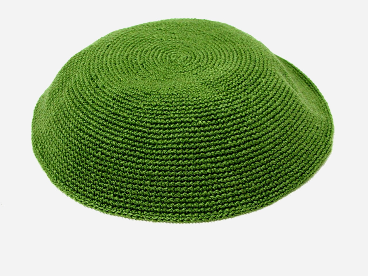 Fern Green DMC Knitted Kippah