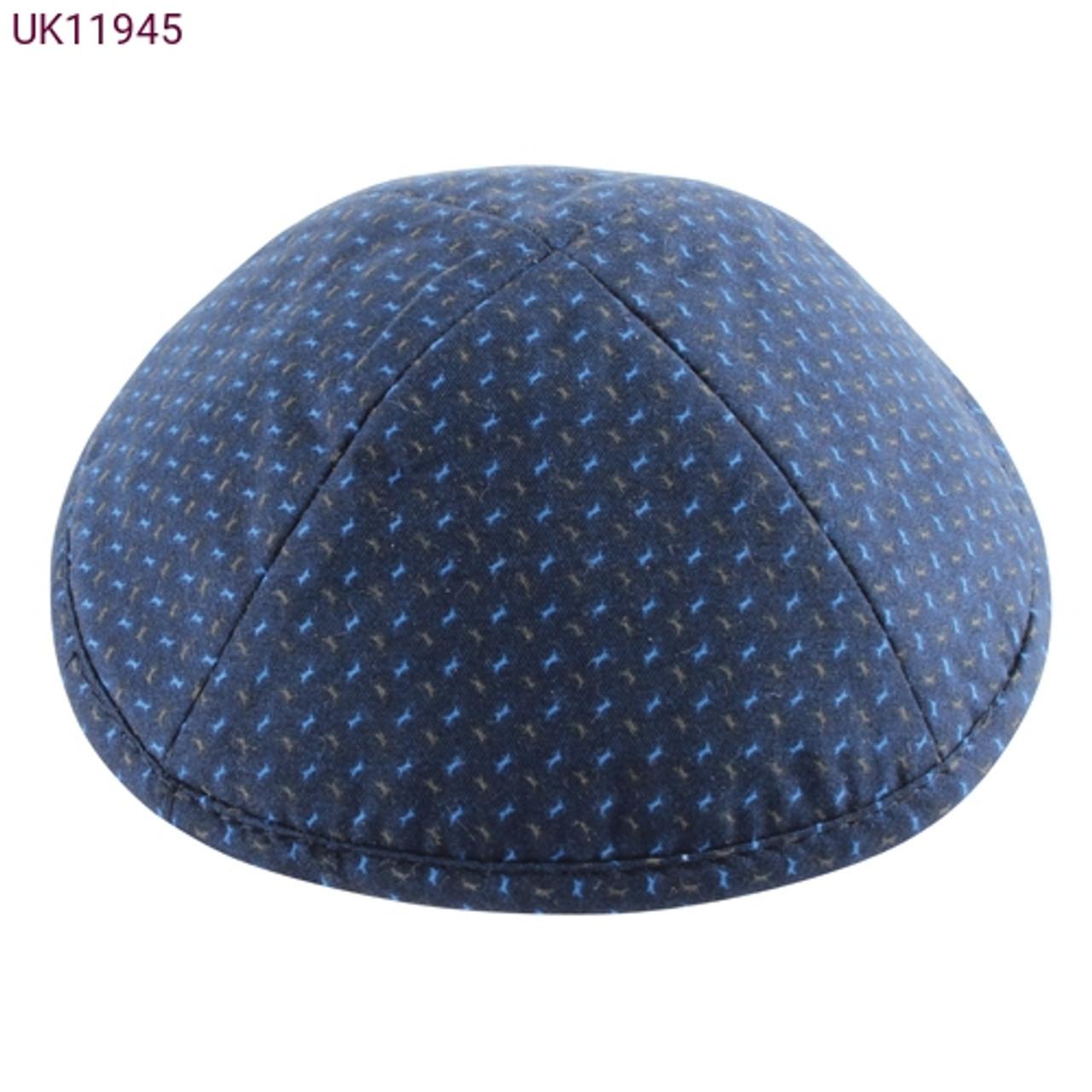 Blue Cloth Kippah