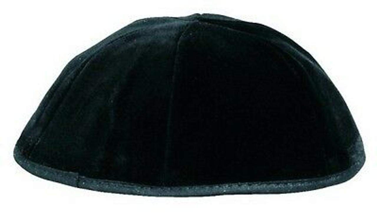 Washable Black Velvet Kippah