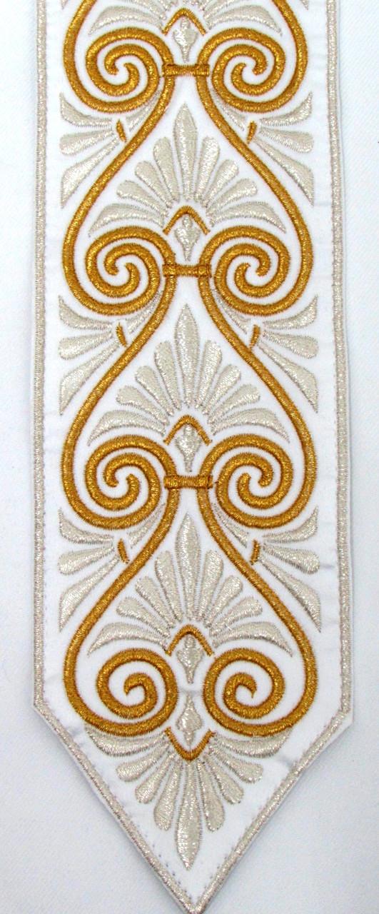 Gold-Silver Swirl Pattern Atara