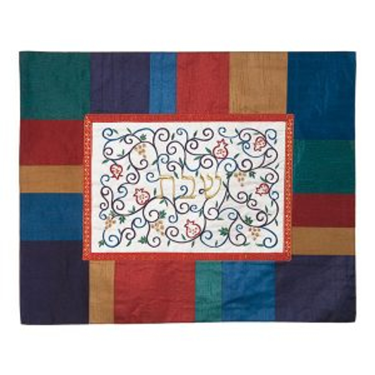 Pastel Patchwork Challah Cover