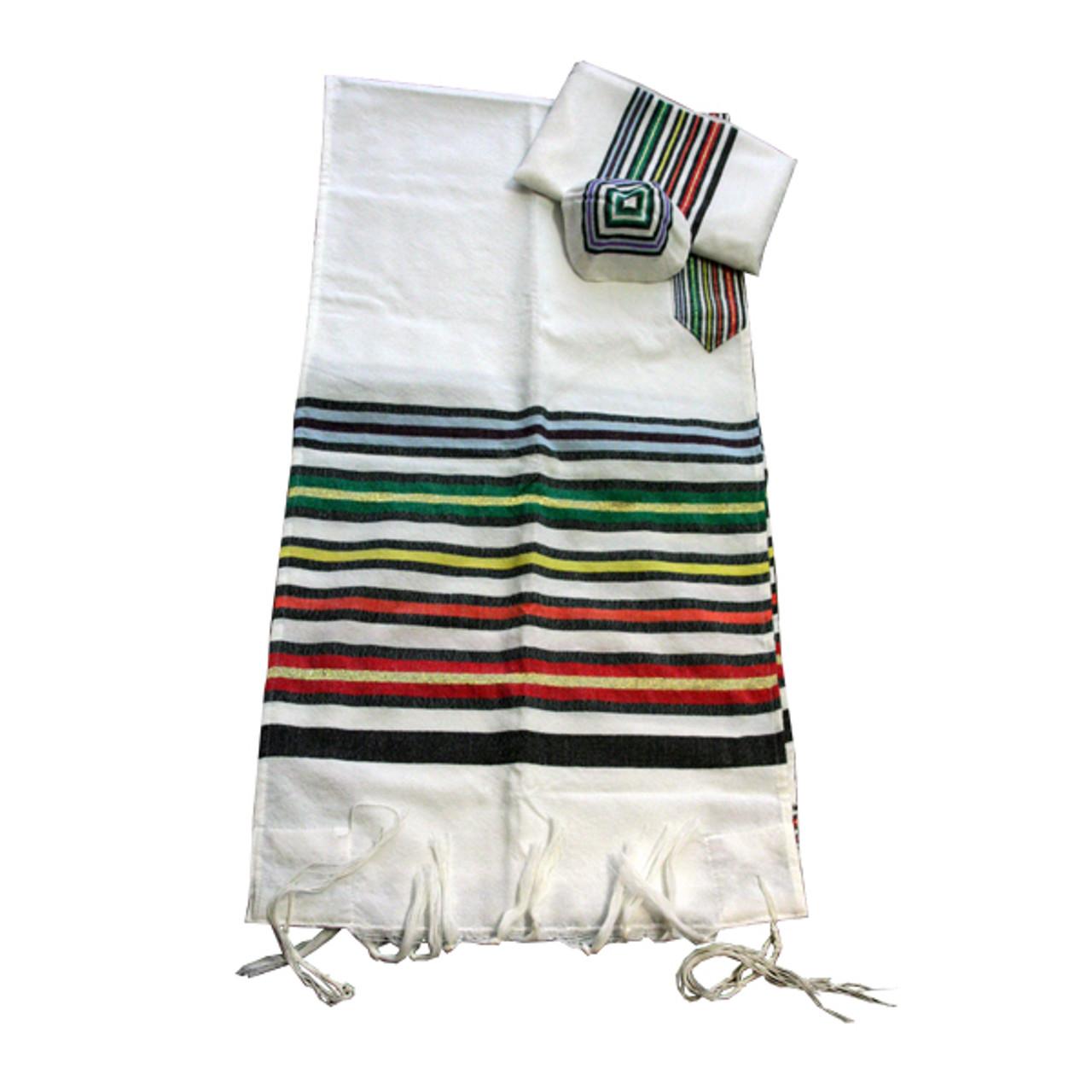 Joseph's Coat Rainbow Tallit