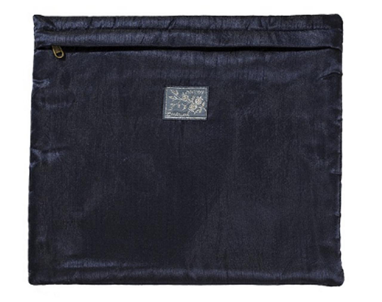 Blue Square Panel Tallit Bag