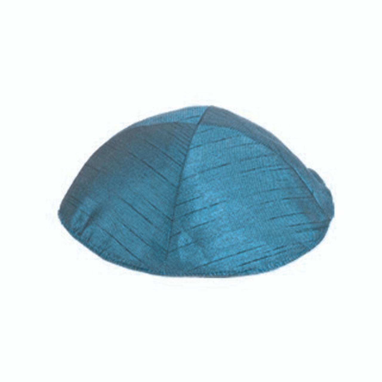 Aqua PolySilk Kippah