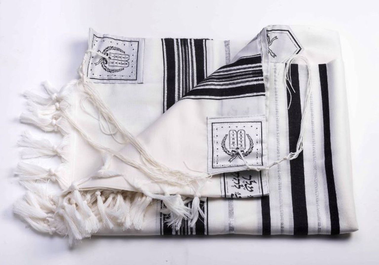 Size 24 Wool A.A. Black/Silver