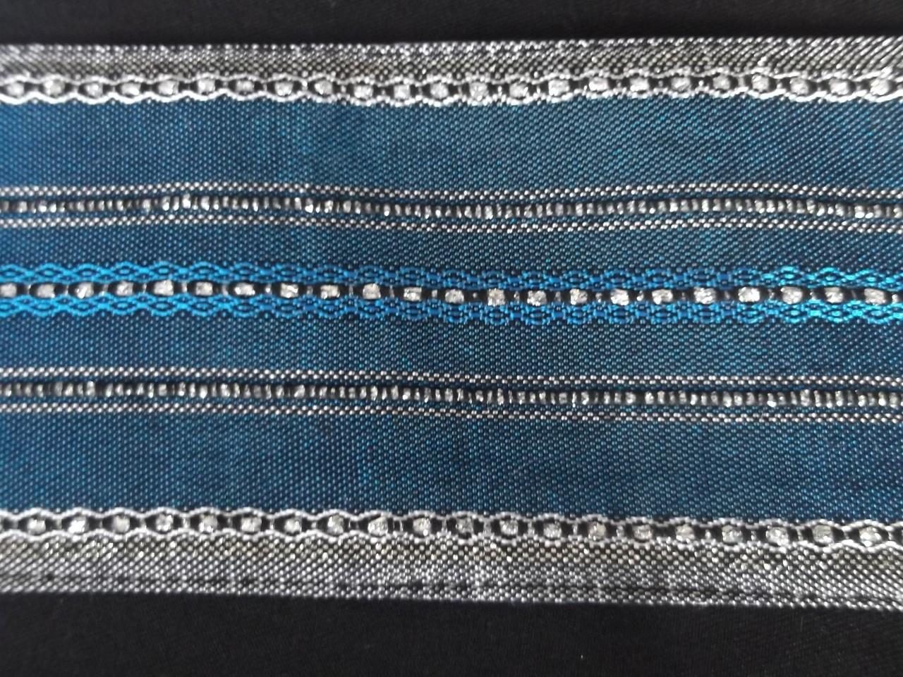 Handwoven Teal Atara