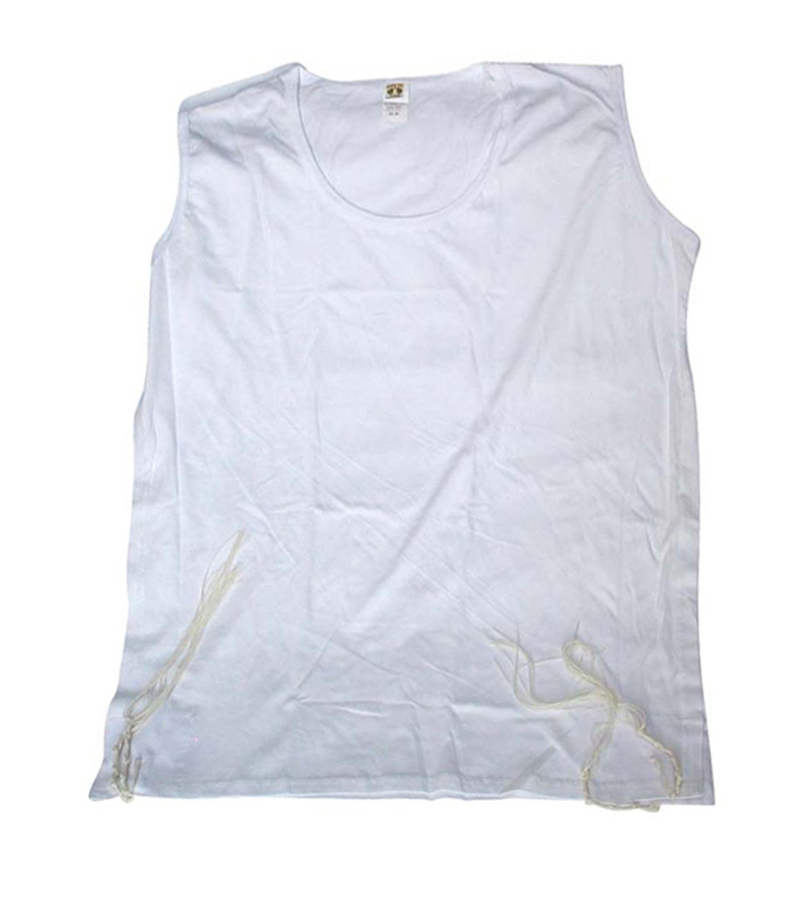 Boys Undershirt Tzitzit with Side Stitching