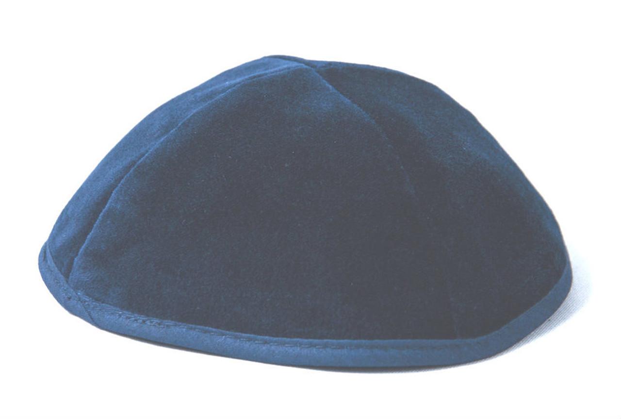 Blue Velvet Kippah