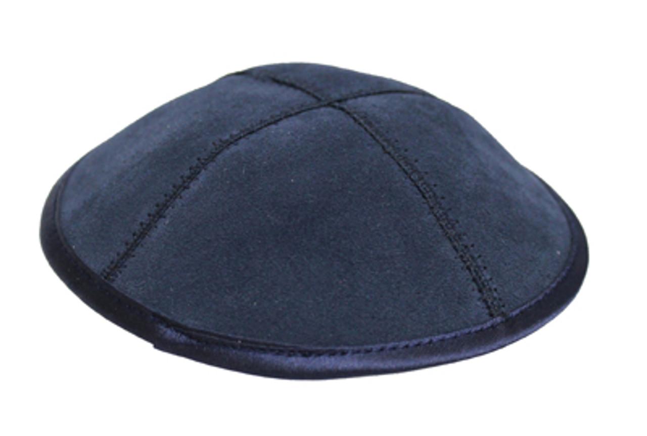 Blue Suede Kippah