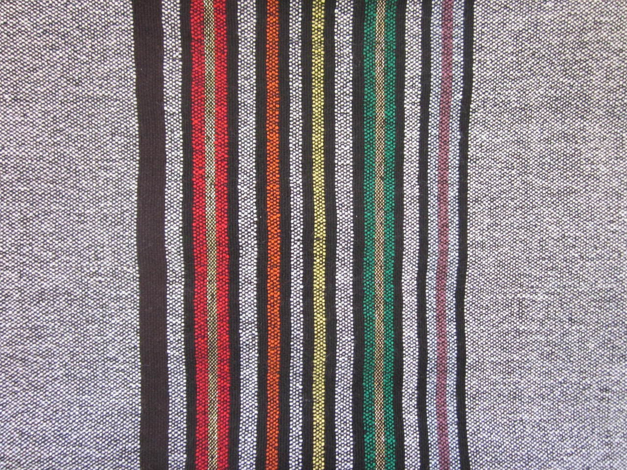 Close-up of striping