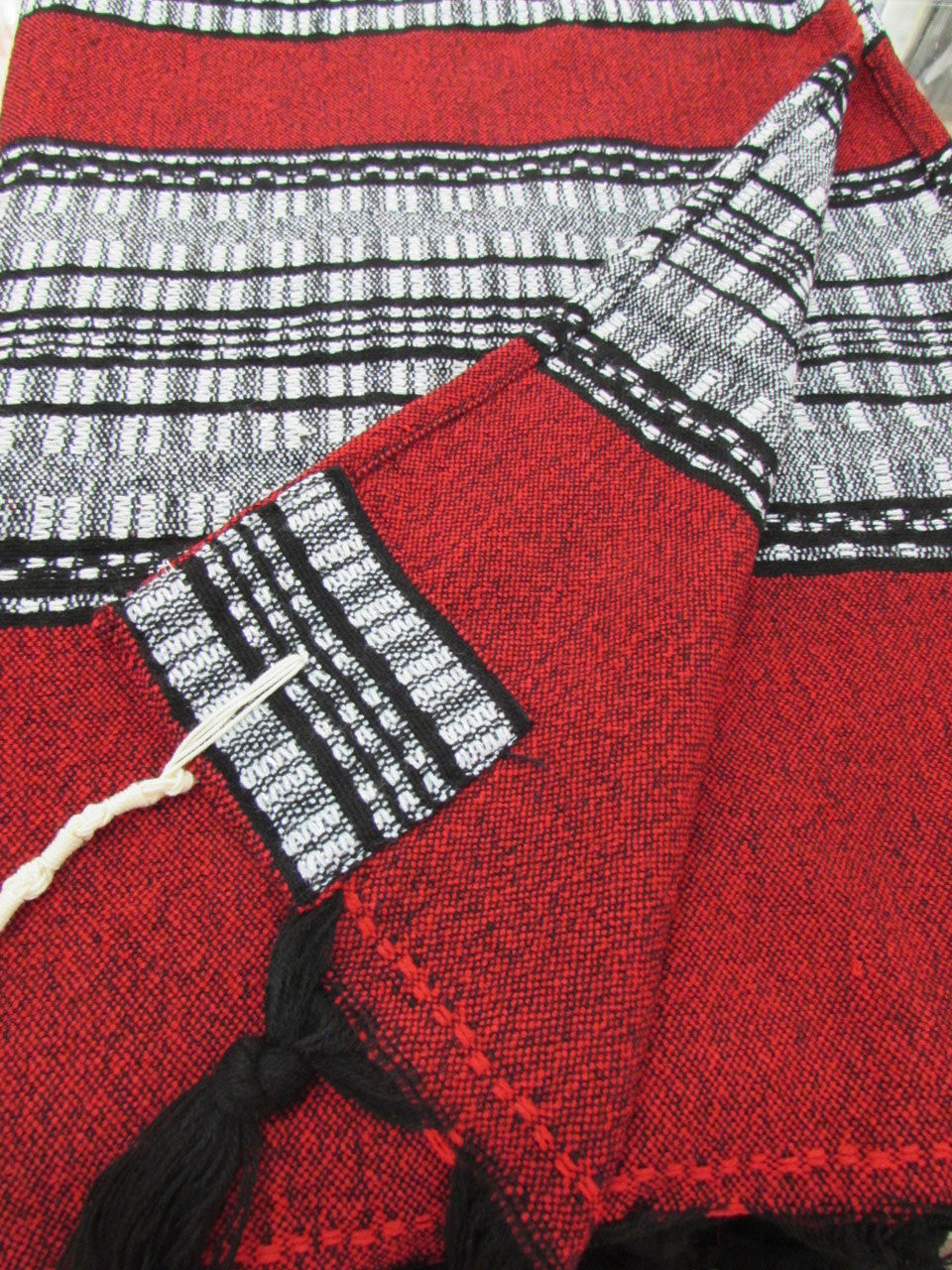 Gabrieli Red with Black & Gray